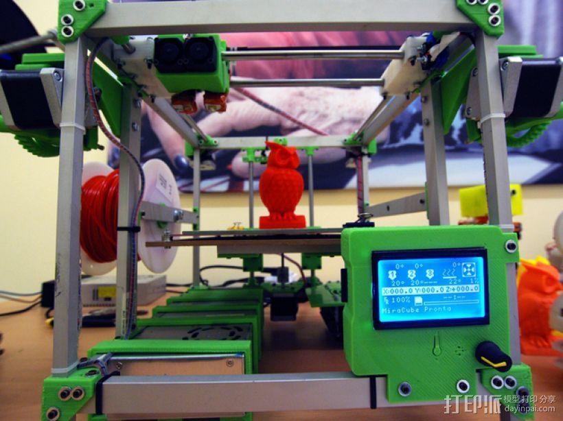 MiraCube 3D打印机 3D模型  图1