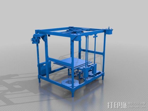 MiraCube 3D打印机 3D模型  图3