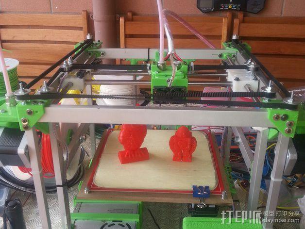MiraCube 3D打印机 3D模型  图43