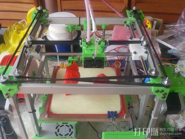 MiraCube 3D打印机 3D模型  图45