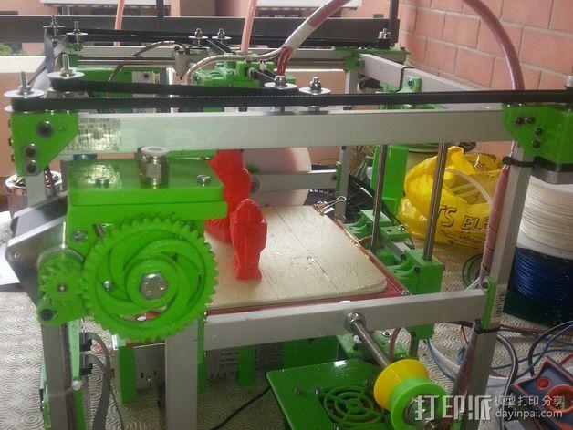 MiraCube 3D打印机 3D模型  图44