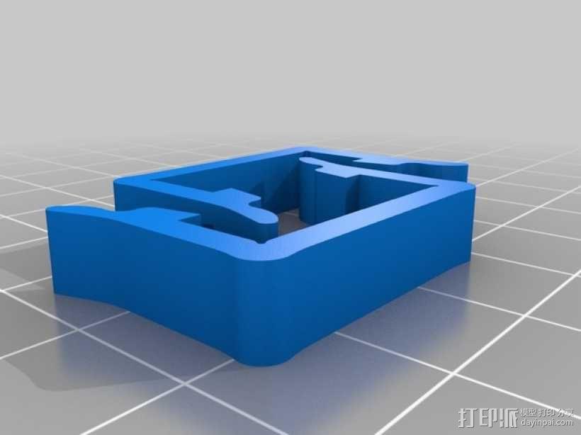 打印机材料夹  电缆夹 3D模型  图15
