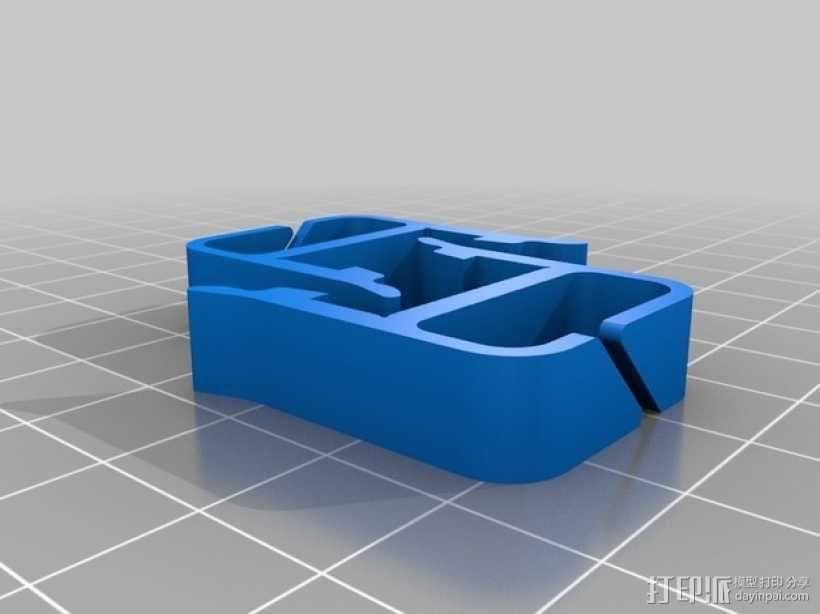 打印机材料夹  电缆夹 3D模型  图19