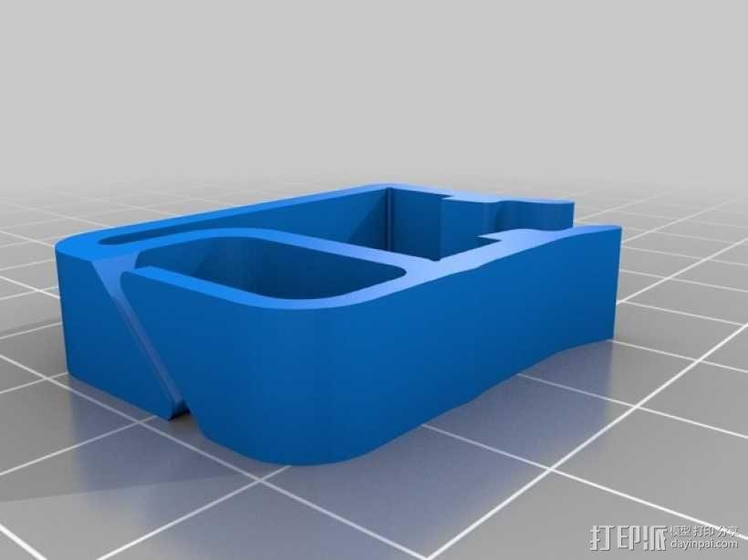 打印机材料夹  电缆夹 3D模型  图25