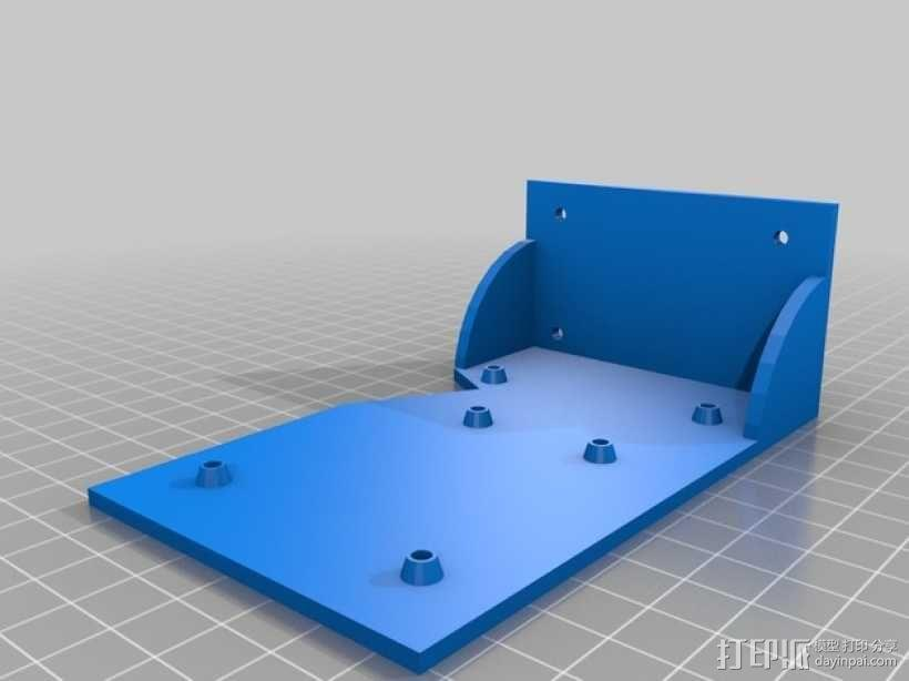 Kossel Mini RAMPS1.4 打印机配件固定装置 3D模型  图6