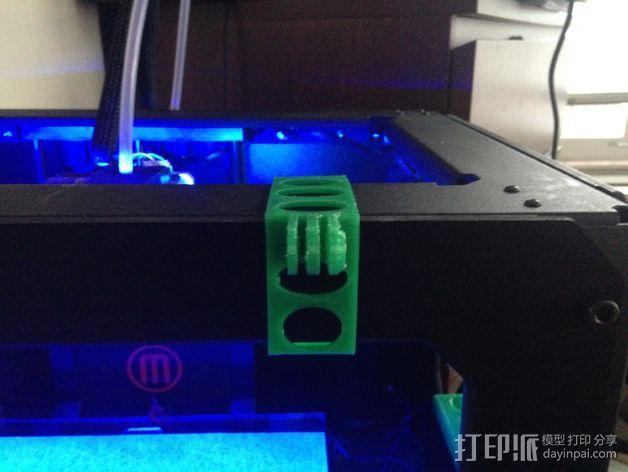 打印机相机架 3D模型  图3