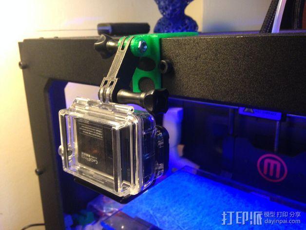 打印机相机架 3D模型  图2