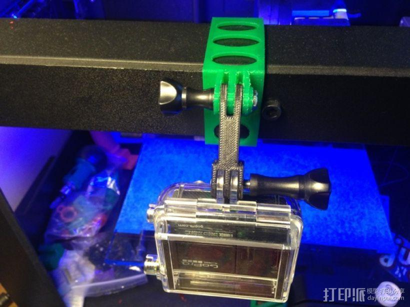 打印机相机架 3D模型  图1