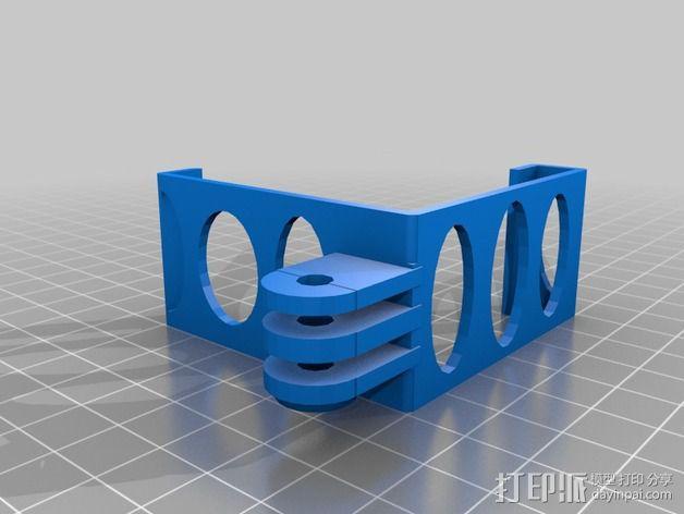 打印机相机架 3D模型  图7