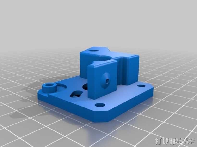 双头挤出机 3D模型  图5