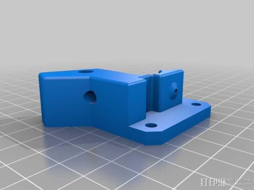 双头挤出机 3D模型  图6