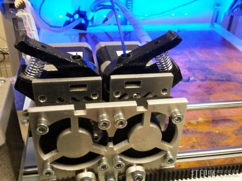 双头挤出机 3D模型  图7