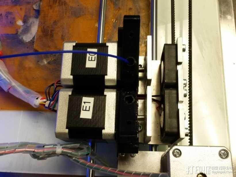 双头挤出机 3D模型  图8