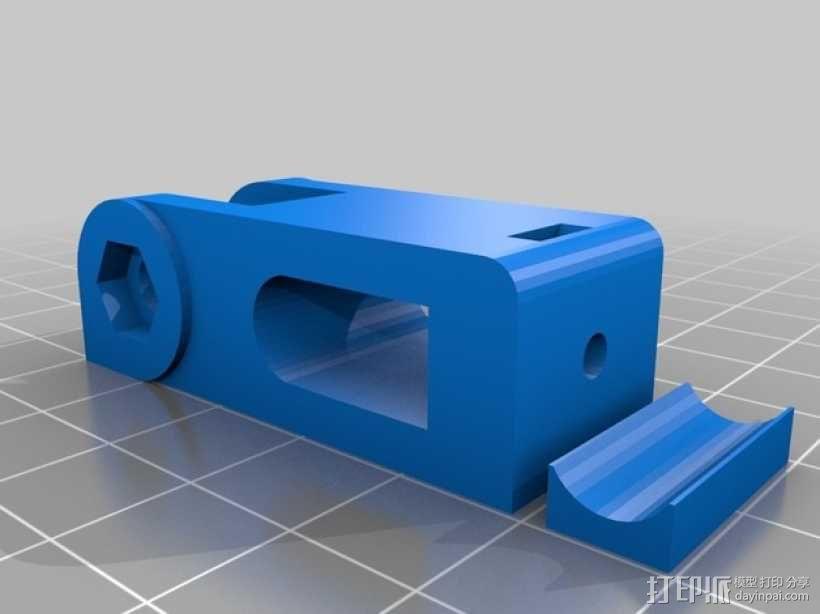 prusa i3 打印机Y轴惰轮  3D模型  图3