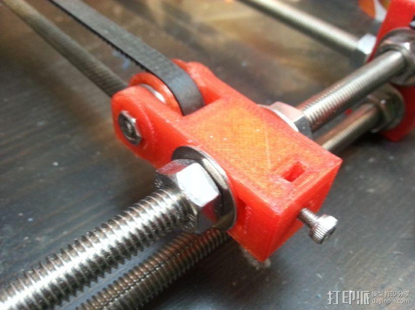 prusa i3 打印机Y轴惰轮  3D模型  图1