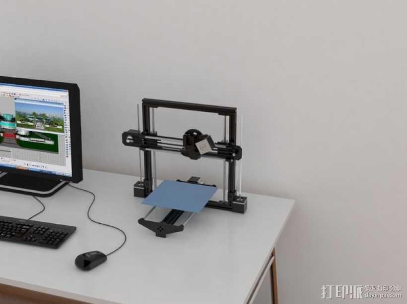 飞利浦Philip Tiny Reprap打印机 3D模型  图1