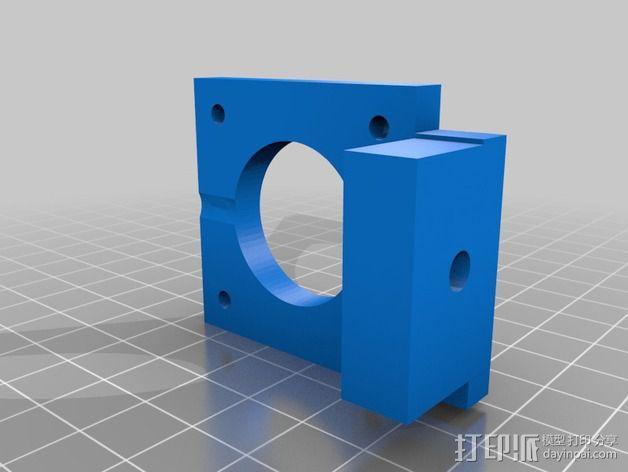 飞利浦Philip Tiny Reprap打印机 3D模型  图3