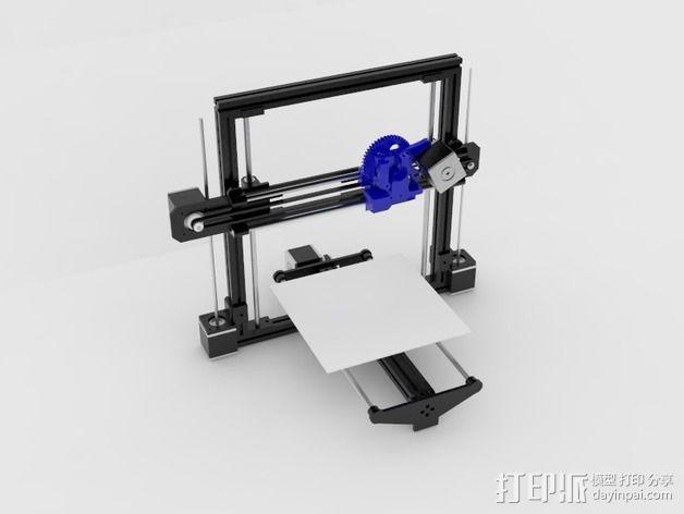 飞利浦Philip Tiny Reprap打印机 3D模型  图9