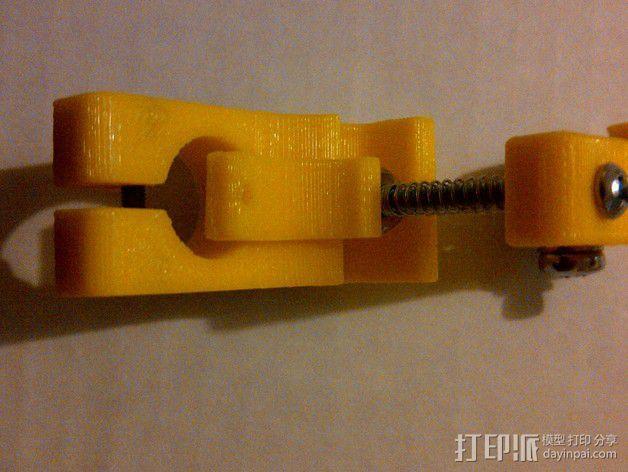 直线驱动挤出机 3D模型  图7