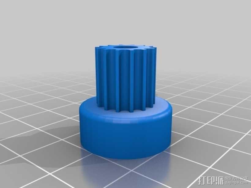 Idea Lab Max i3打印机 3D模型  图2