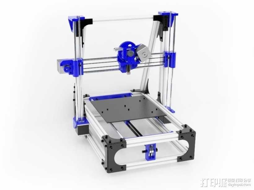 Idea Lab Max i3打印机 3D模型  图1