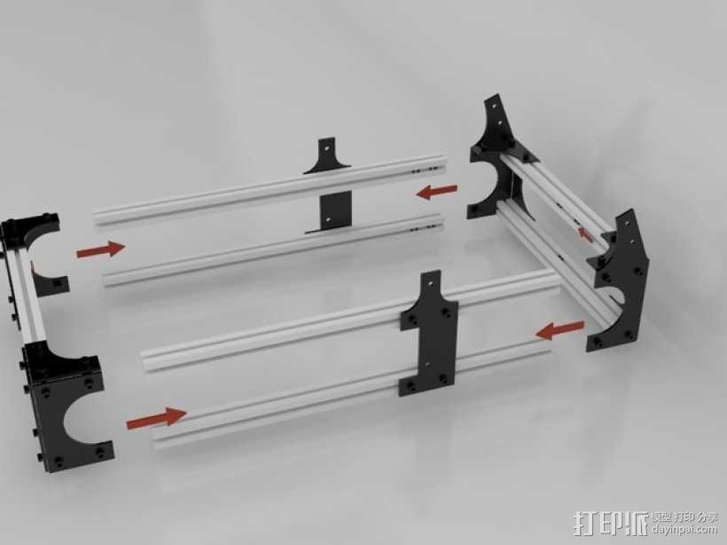 Idea Lab Max i3打印机 3D模型  图26
