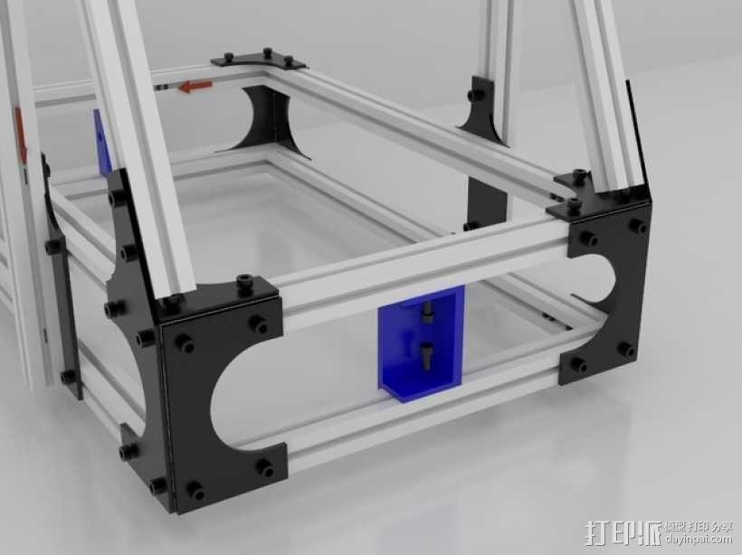 Idea Lab Max i3打印机 3D模型  图29