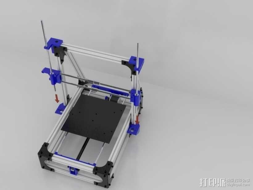 Idea Lab Max i3打印机 3D模型  图36