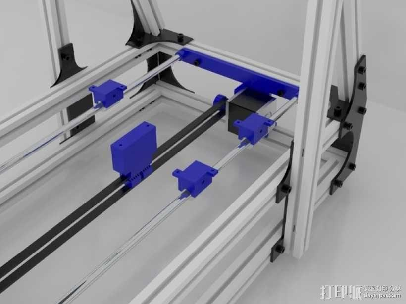 Idea Lab Max i3打印机 3D模型  图40