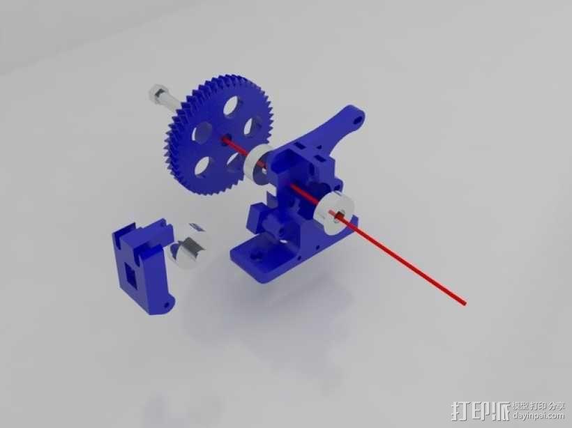 Idea Lab Max i3打印机 3D模型  图45