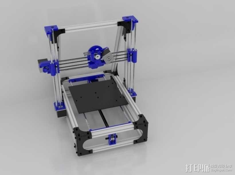 Idea Lab Max i3打印机 3D模型  图46