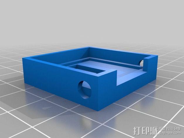 树莓派相机固定装置 3D模型  图5