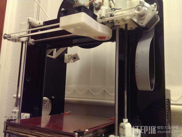 树莓派相机固定装置 3D模型  图6
