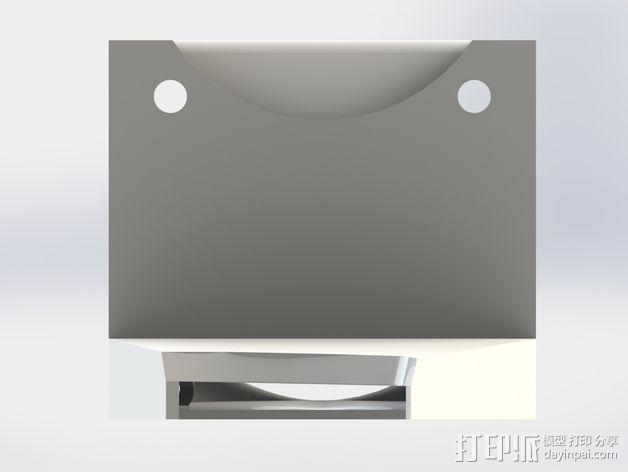 打印机风扇架 3D模型  图5