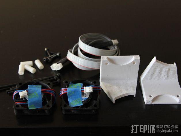 打印机风扇架 3D模型  图10