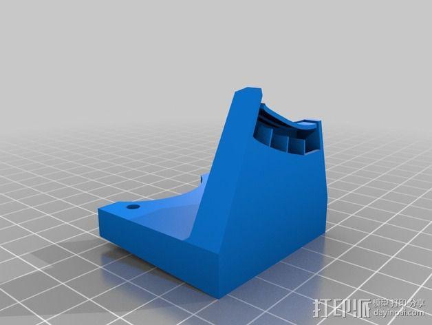 打印机风扇架 3D模型  图14