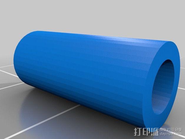 打印机风扇架 3D模型  图16