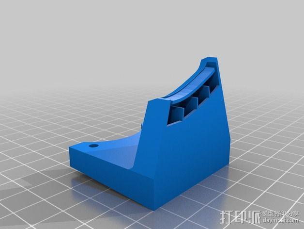 打印机风扇架 3D模型  图15