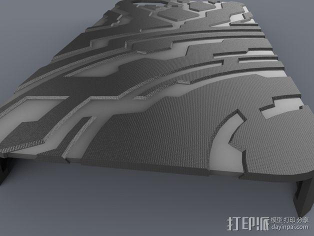 光晕Iphone 5手机外壳 3D模型  图9