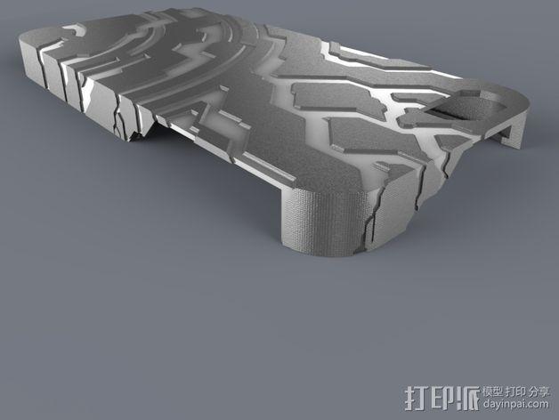 光晕Iphone 5手机外壳 3D模型  图6