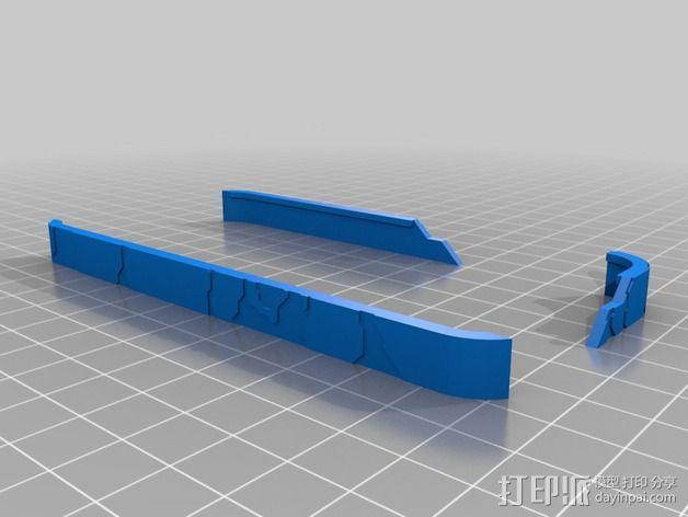 光晕Iphone 5手机外壳 3D模型  图12