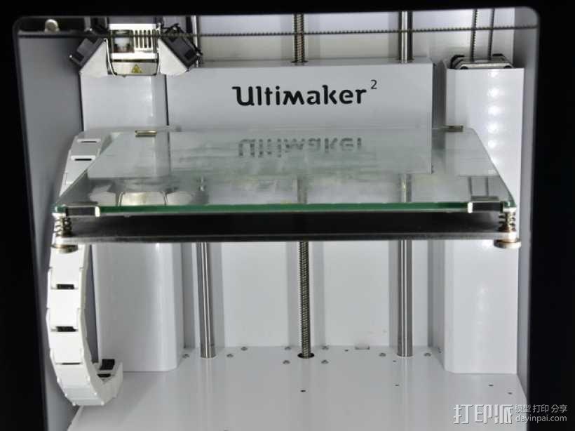 Ultimaker2 打印机锚链 3D模型  图2