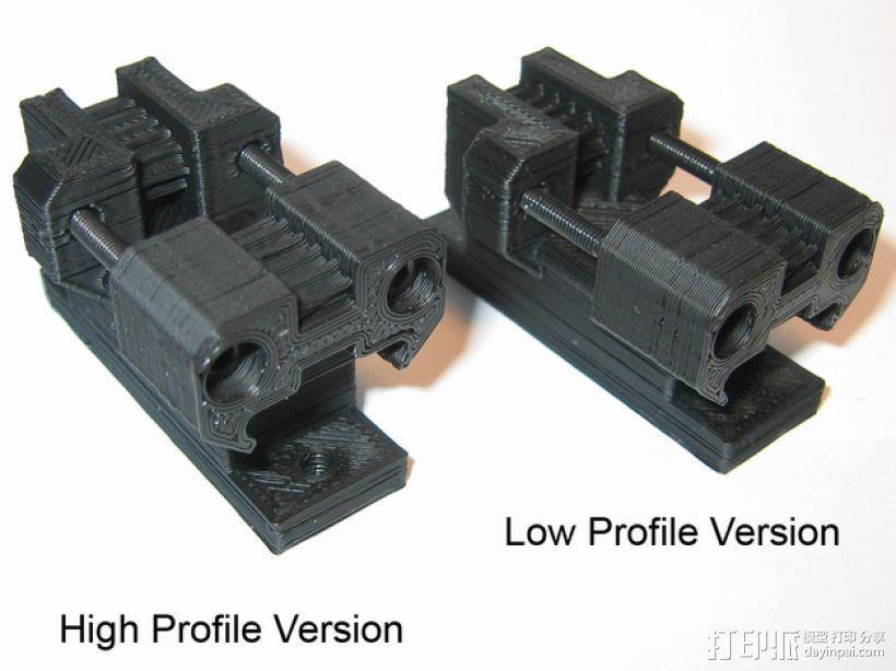Prusa i3打印机Y轴皮带张紧器 3D模型  图1
