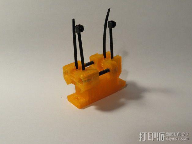 Prusa i3打印机Y轴皮带张紧器 3D模型  图2