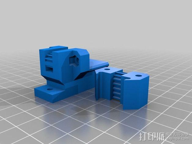 Prusa i3打印机Y轴皮带张紧器 3D模型  图5