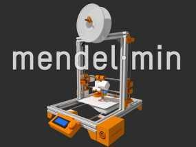 Mendelmin打印机 3D模型
