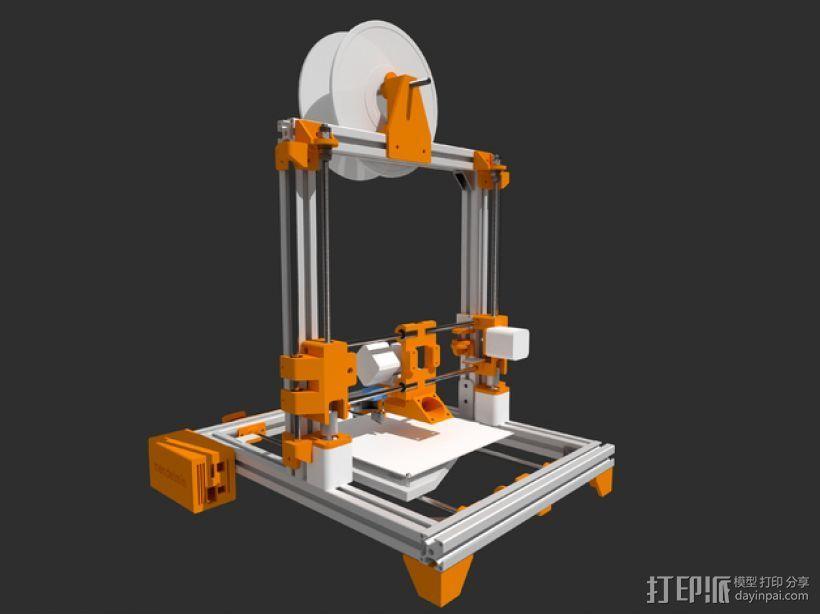 Mendelmin打印机 3D模型  图3