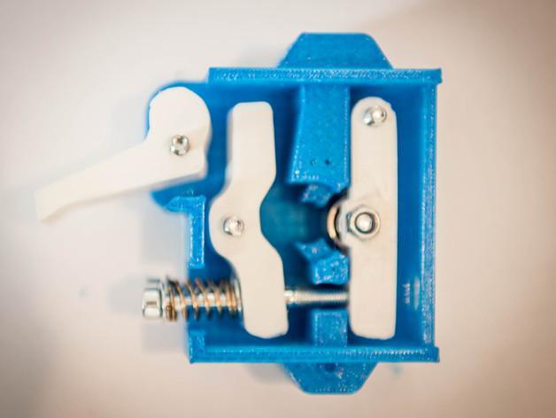 弹簧管送料机 3D模型  图3