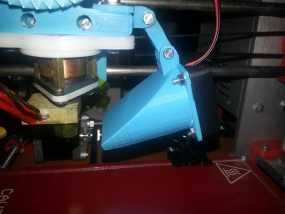 挤出机通风导管 3D模型