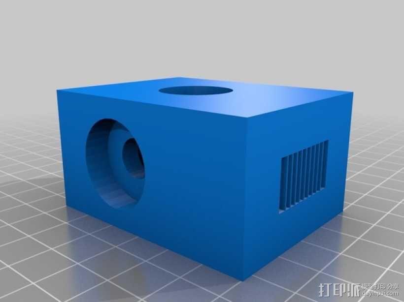 滚铣螺栓 3D模型  图2